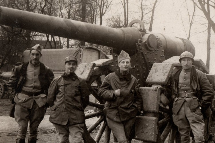 Canon de la WW1