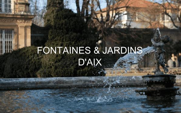 Une fontaine de la visite Fontaines et Jardins