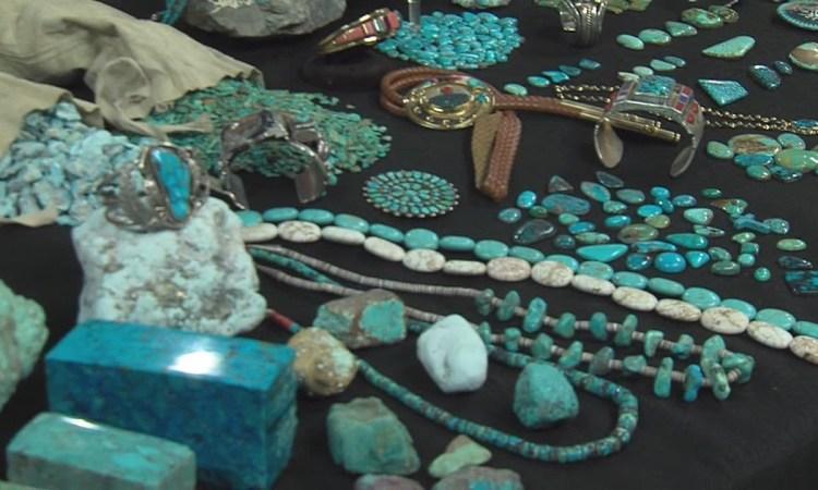 Turquoise gemstones