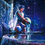 Aquarius waterbearer