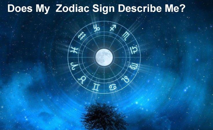 Does My Zodiac Sign Describe Me?