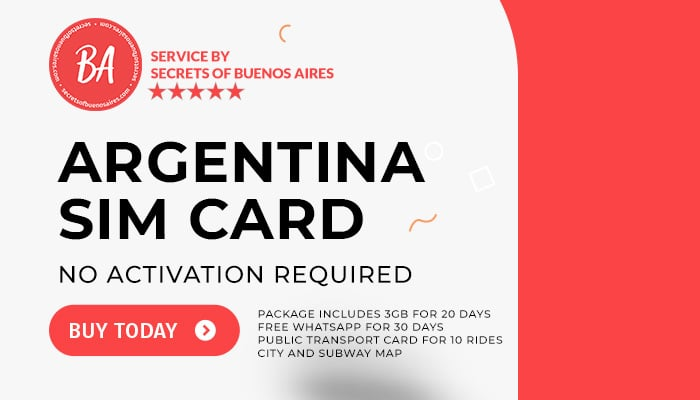 Buy Argentina SIM CARD plus SUBE
