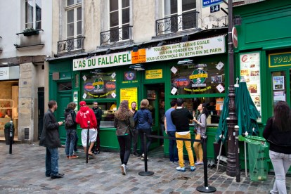 As du Fallafel facade