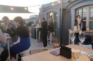 Paris rooftop bar