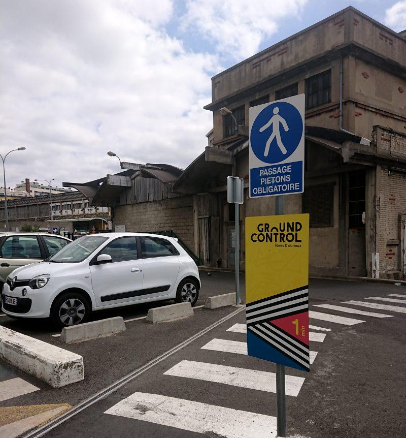 Short Cut Through Parking Lot
