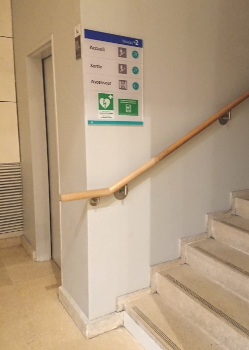 Stairs to the RATP