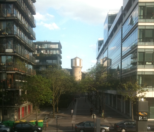 View of Les Frigos
