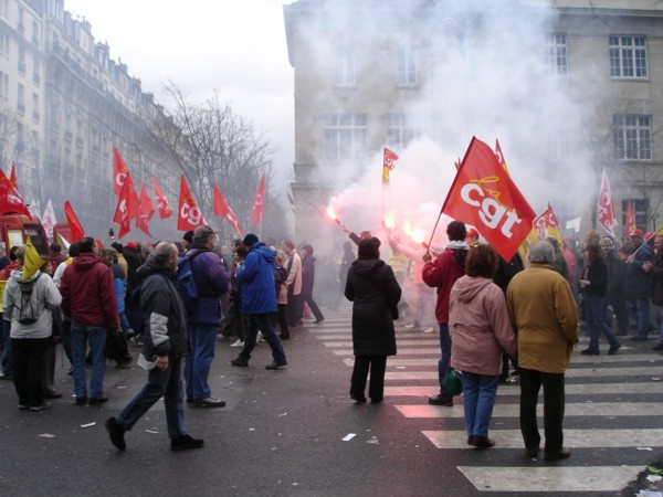protest march paris