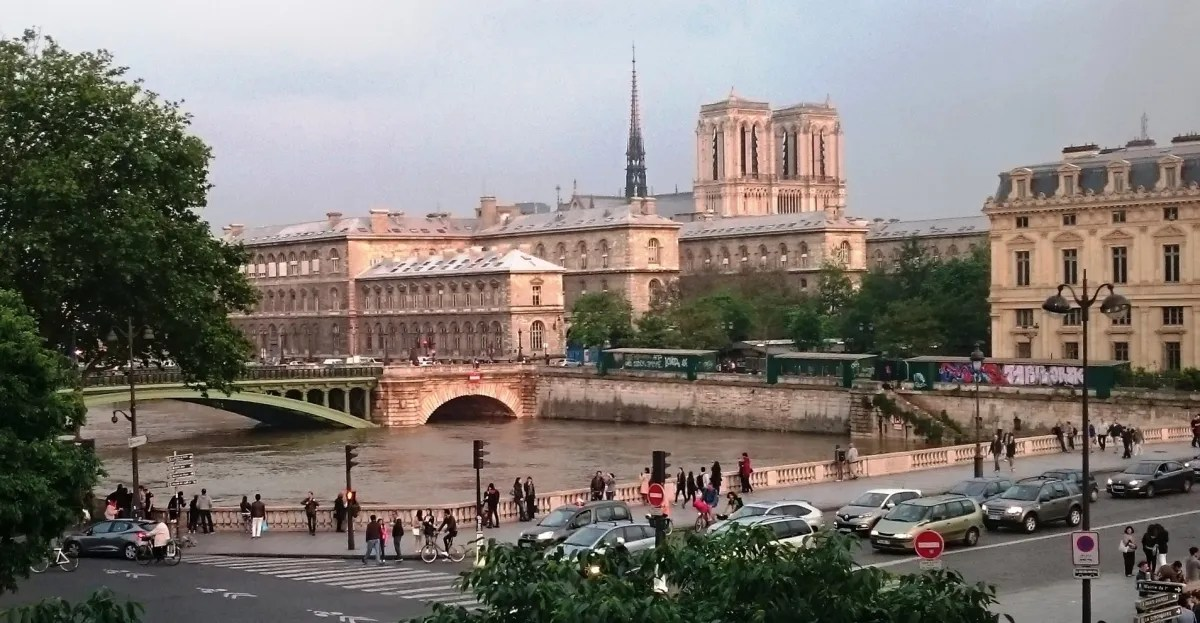 Notre Dame from Theatre de Chatelet