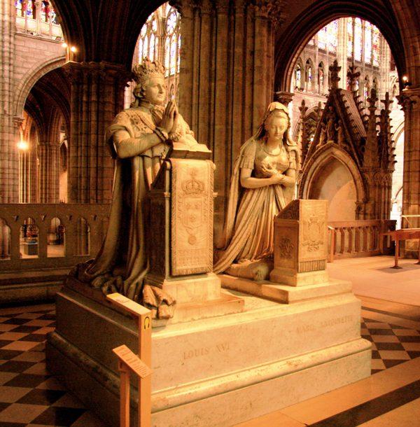 Statues St Denis