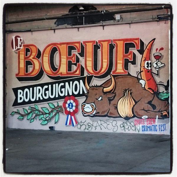 Boeuf Bourguignon by OnOff Crew