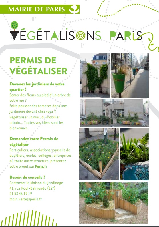 vegetalison paris chart