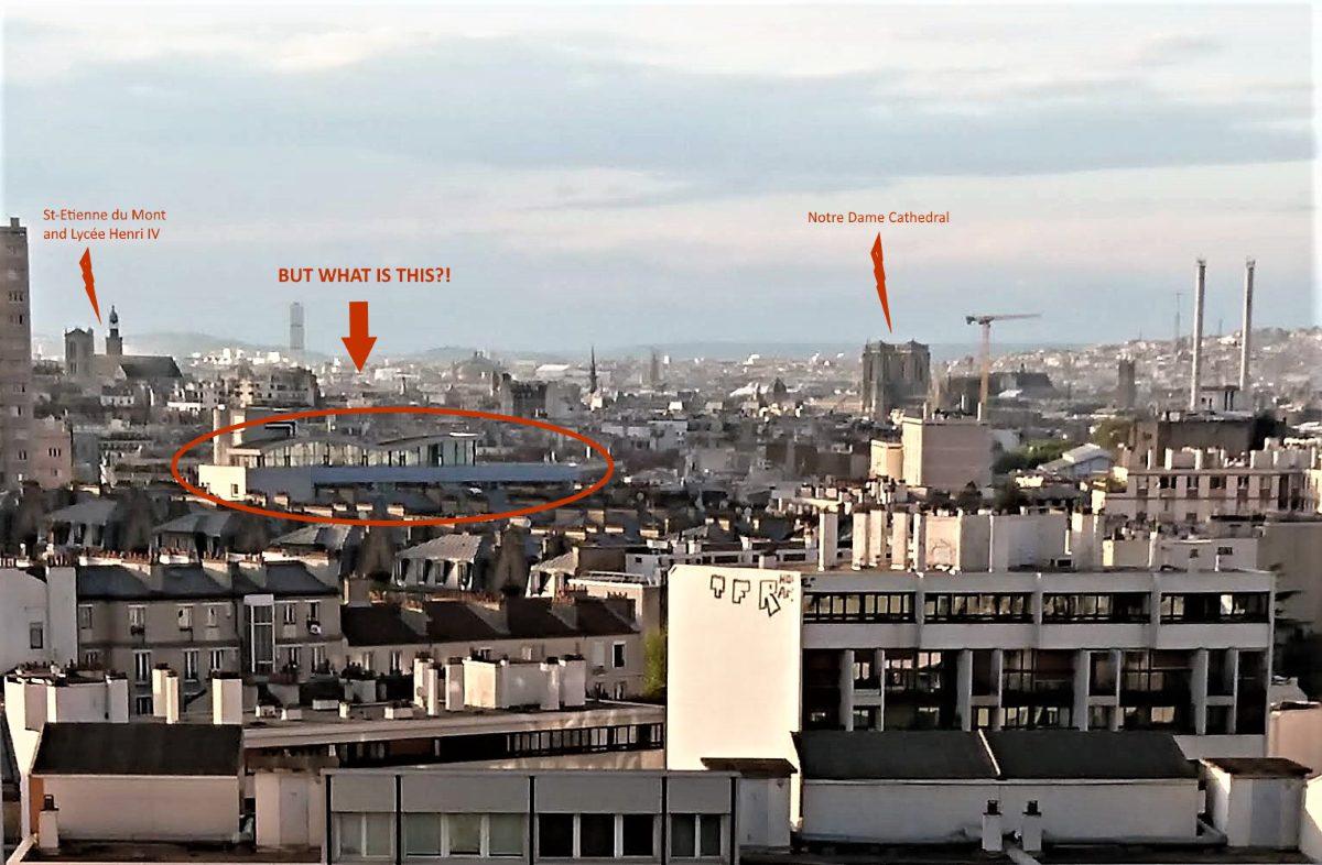 View of Paris buildings