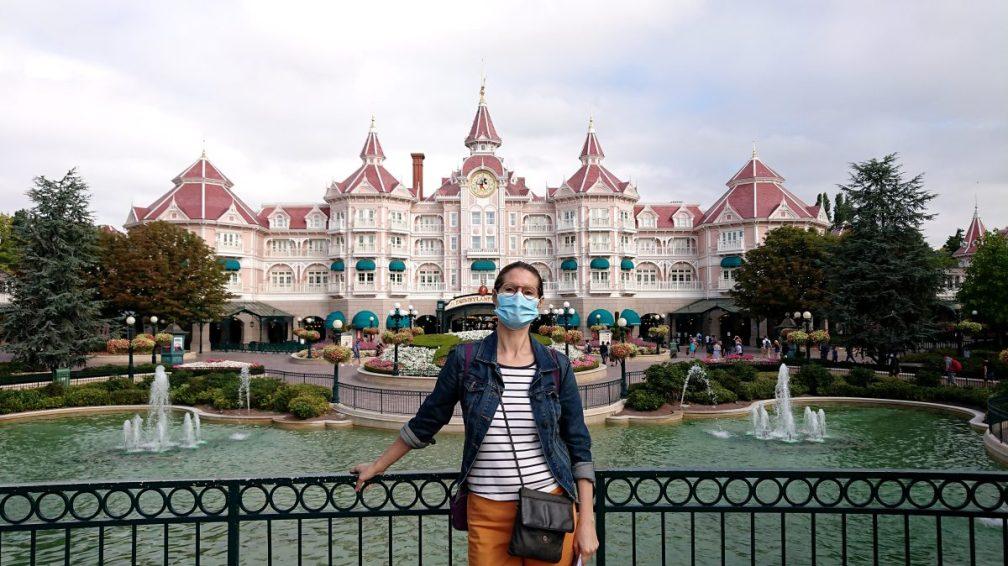 Heather at Disneyland