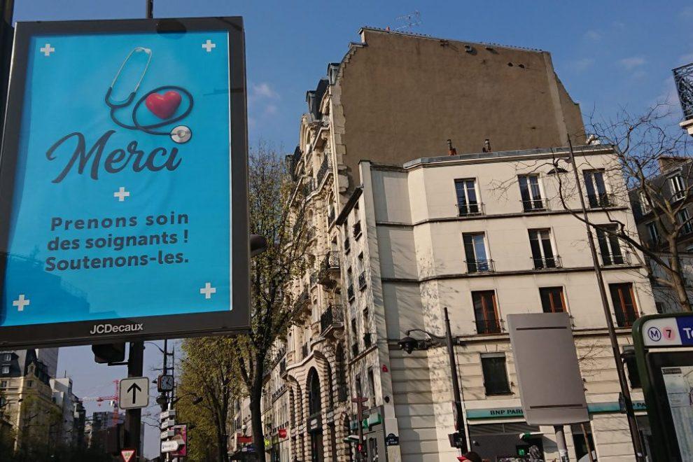 Merci poster Paris