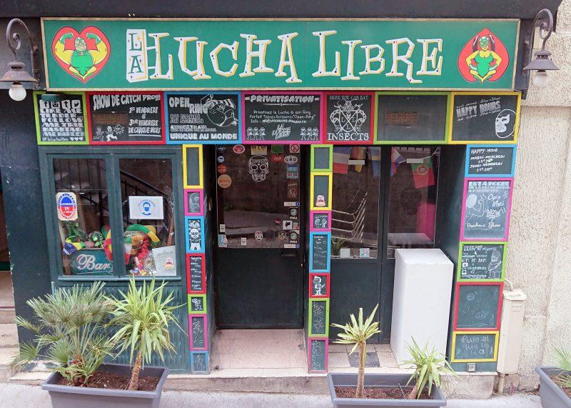 Lucha Libre Bar facade