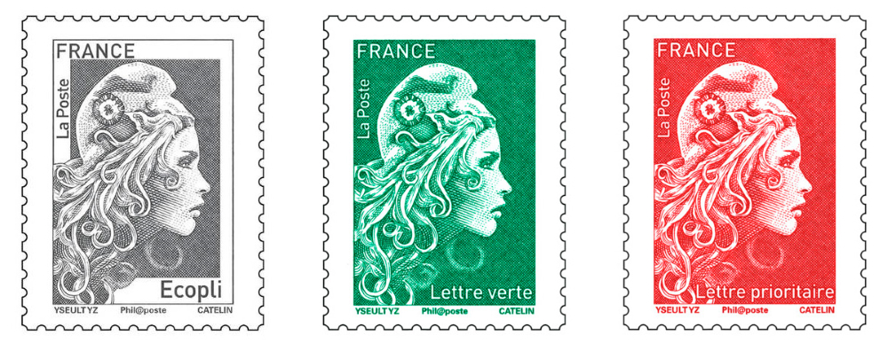 French stamps