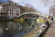 bridge on Canal St Martin