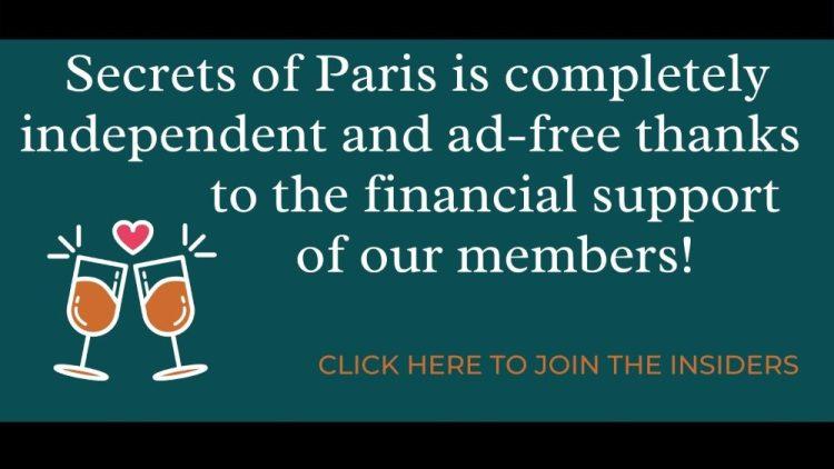 Support the Secrets of Paris