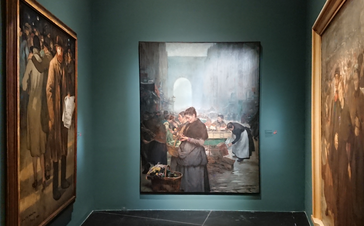 Temporary exhibition of Jules Adler paintings