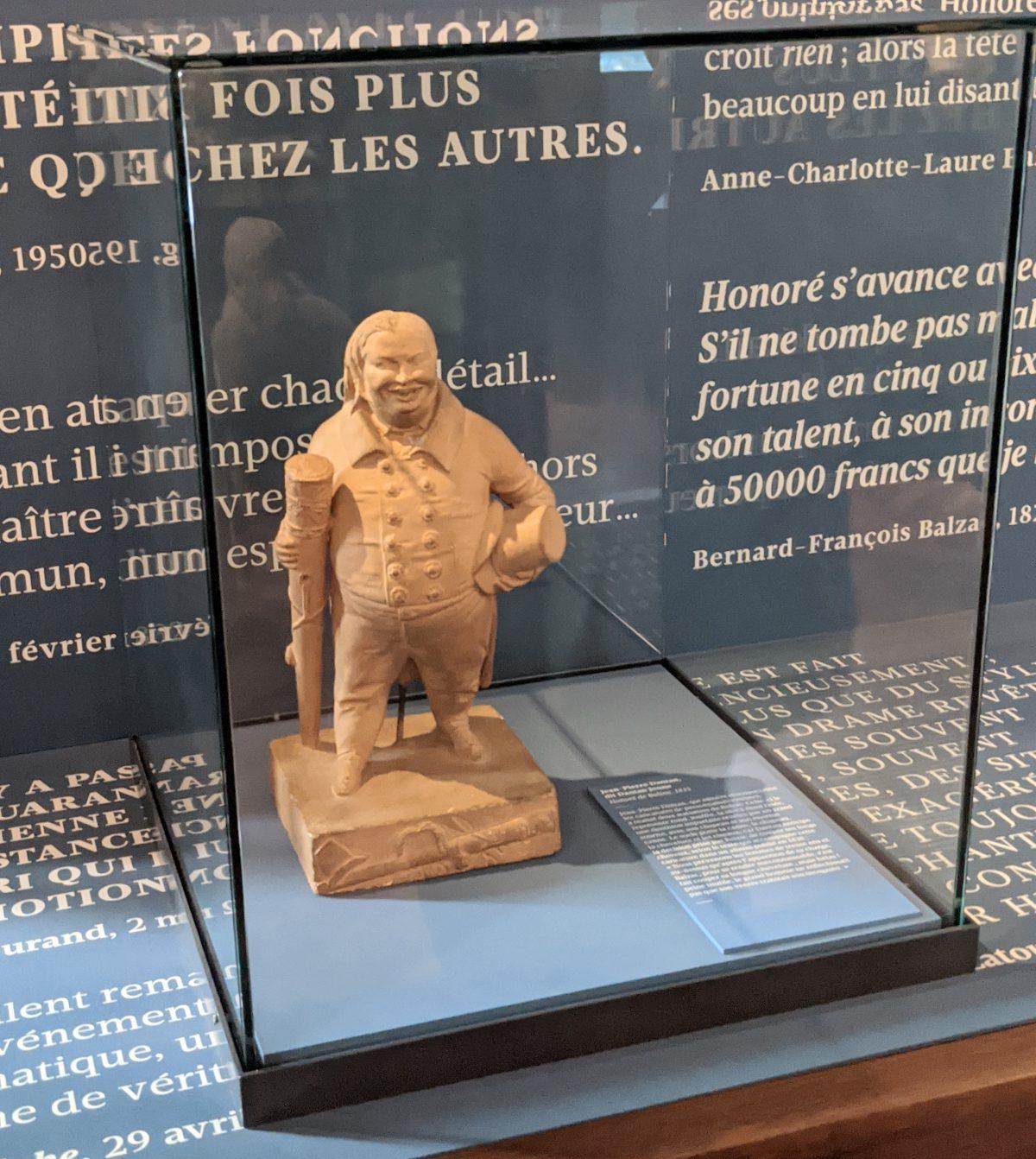 Balzac statue