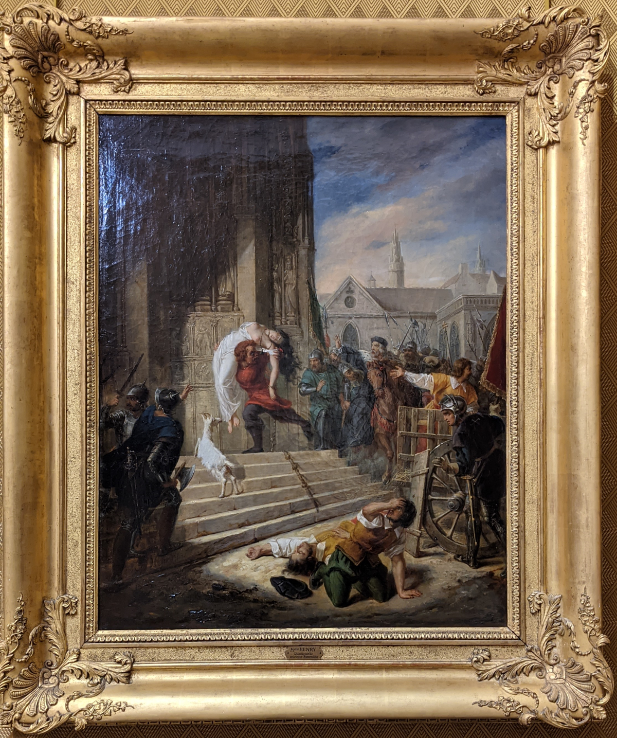 Painting of Hunchback of Notre Dame