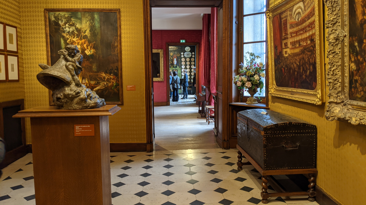 Victor Hugo Museum rooms