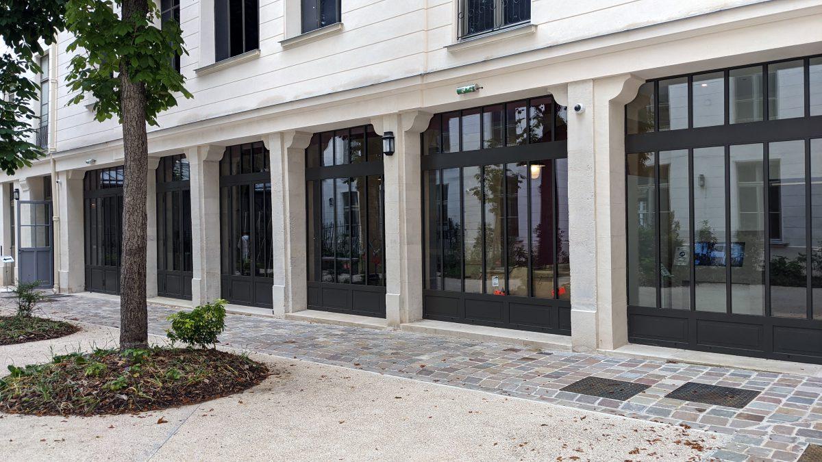 The courtyard café