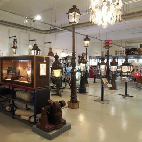 Vintage lamps and lightposts