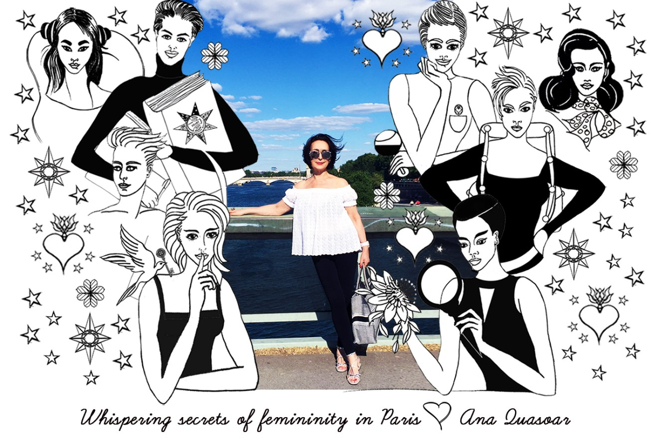 Ana and illustrations of women