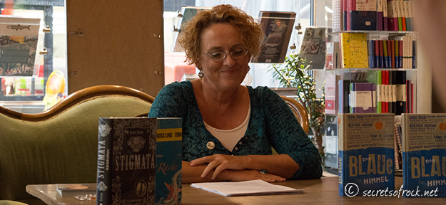 Beatrix Gurian nach der Lesung