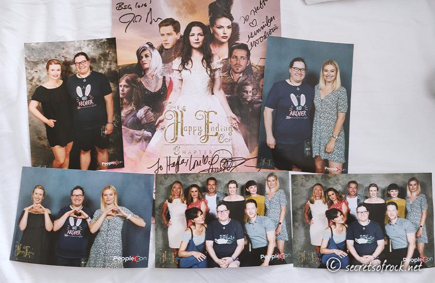 Foto von allen Fotos und Autogramme vom Samstag