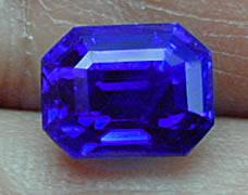 Fine 5.36 carat sapphire from Kashmir.