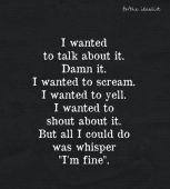 whispering-im-fine