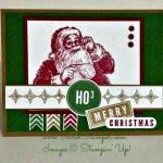 Santa's List with A Banner Christmas
