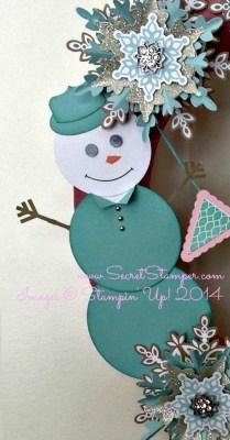 Let It Snow Wreath Mr. Snow