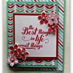 Joy Fold Card Looks Good with Feel Goods