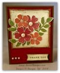 By Debbie Mageed, Flower Shop, Secret Garden, Petite Petals, Thank You