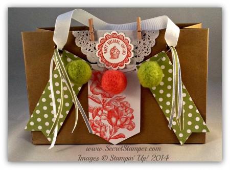 Paper Pumpkin, Heartfelt Banner Designer Kit, Gift Bag