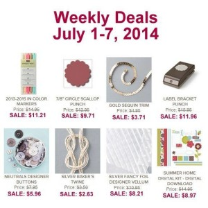 Weekly Deal July 1