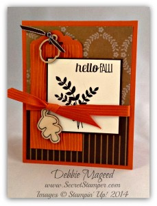For All Things, Scalloped Tag Topper Punch, Autumn Wooden Elements