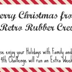 Happy Holidays from Retro Rubber and Blog Candy