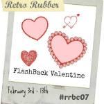 Retro Rubber Valentine Challenge