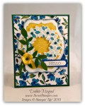 By Debbie Mageed, Wondrous Wreath, Crazy about You, Flower Frenzy Bigz L, Stampin Up