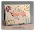 By Debbie Mageed, Balloon Bash, Stampin Up
