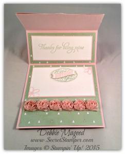 Mother's Love, Easel Card, Artisan Embellishment Kit, Mother's Day Inside