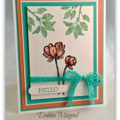 Watercolor Bloom with Hope for the Paper Players