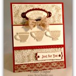 By Debbie Mageed, Tea Shoppe, Something Borrowed, Stampin Up