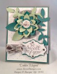 By Debbie Mageed, Flower Frenzy Bigz L, Hello There, Stampin Up