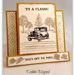 By Debbie Mageed, Guy Greetings, Center Step Card, Fun Fold, Masculine, Fathers Day, Stampin Up